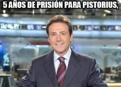 Enlace a 5 años de prisión para Pistorius