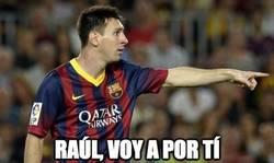 Enlace a Messi, a sólo 2 de Raúl