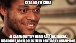 Enlace a Luiz Adriano iguala el record de Messi