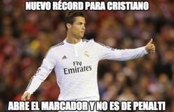 Enlace a Nuevo récord para Cristiano