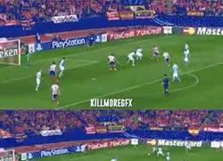 Enlace a GIF: ¡Qué bueno es Koke!, el Atlético golea con él participando en 4 goles
