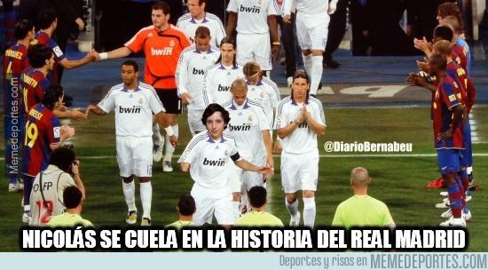 401722 - Nicolás se cuela en la historia del Real Madrid