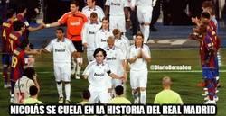 Enlace a Nicolás se cuela en la historia del Real Madrid