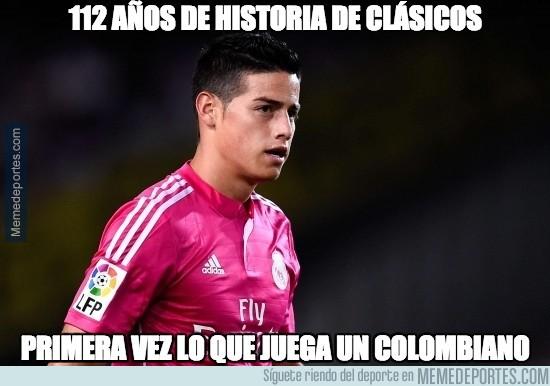 402438 - James hace historia en España y en Colombia