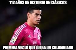 Enlace a James hace historia en España y en Colombia