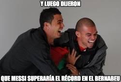 Enlace a ¿Y lo del récord de Messi?