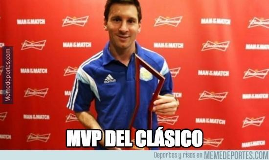 402792 - Y contra todo pronóstico, él es el MVP del clásico