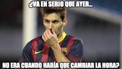 Enlace a Por este motivo, Messi no acudió al Bernabeu