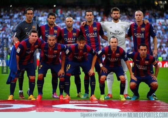 403115 - Alineación del Barça frente al Real Madrid, ahora todo tiene sentido