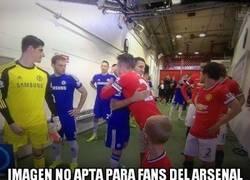 Enlace a Imagen no apta para fans del Arsenal