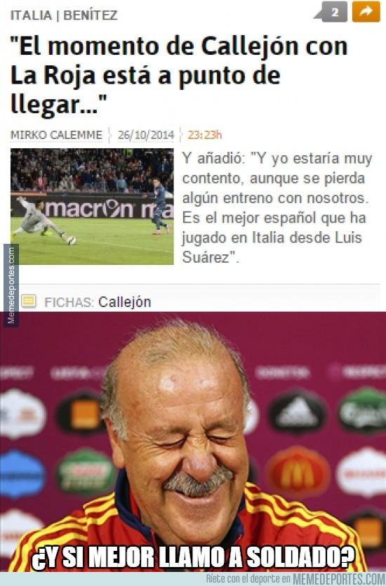 403798 - Callejón se está saliendo en la Serie A pero...
