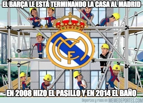 403804 - El Barça le está terminando la casa al Madrid