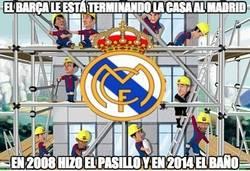 Enlace a El Barça le está terminando la casa al Madrid