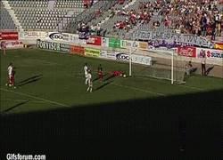 Enlace a GIF: Y éste gol ha sido el mejor gol de la liga adelante 2013-2014
