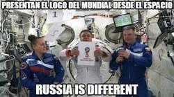 Enlace a Presentan el logo del mundial  2018 desde el espacio