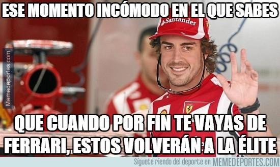 404876 - Todo el mundo se imagina lo que puede pasar en Ferrari tras la marcha de Alonso