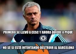 Enlace a ¿Qué haces Mourinho? ¿Qué tramas?