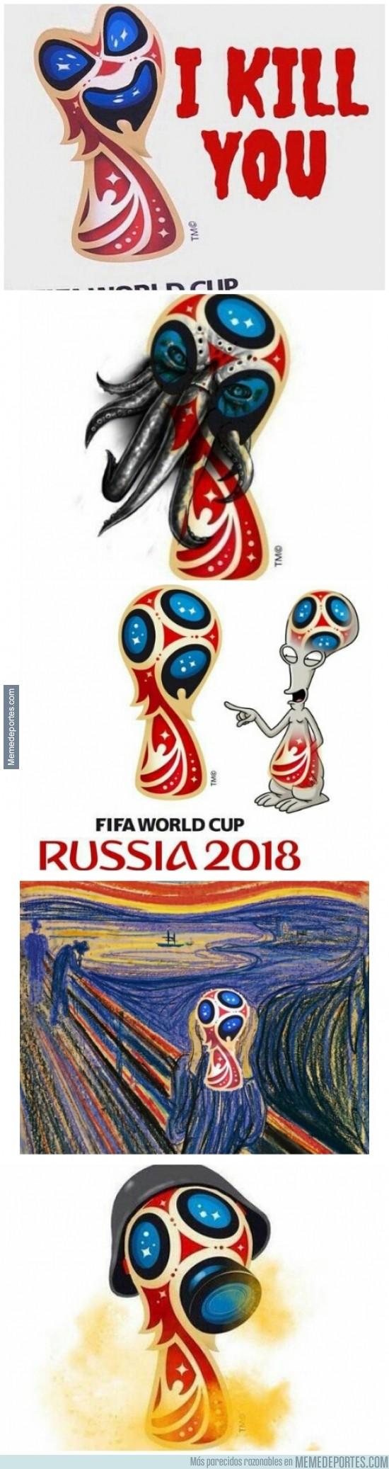 404904 - Los mejores memes del logo del mundial de Rusia 2018