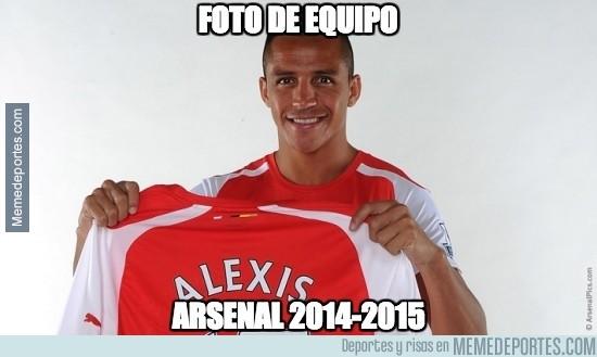 405535 - Foto de Equipo Arsenal 2014/15