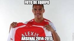 Enlace a Foto de Equipo Arsenal 2014/15