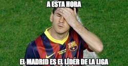 Enlace a A esta hora el Madrid es el líder de la liga