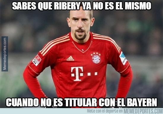 405627 - Sabes que Ribery ya no es el mismo...