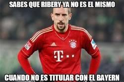 Enlace a Sabes que Ribery ya no es el mismo...