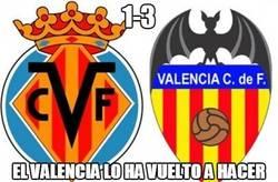 Enlace a El Valencia lo vuelve a hacer, victoria con tres goles