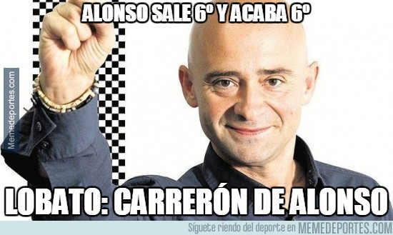 406691 - Alonso sale 6º y acaba 6º