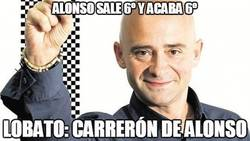 Enlace a Alonso sale 6º y acaba 6º