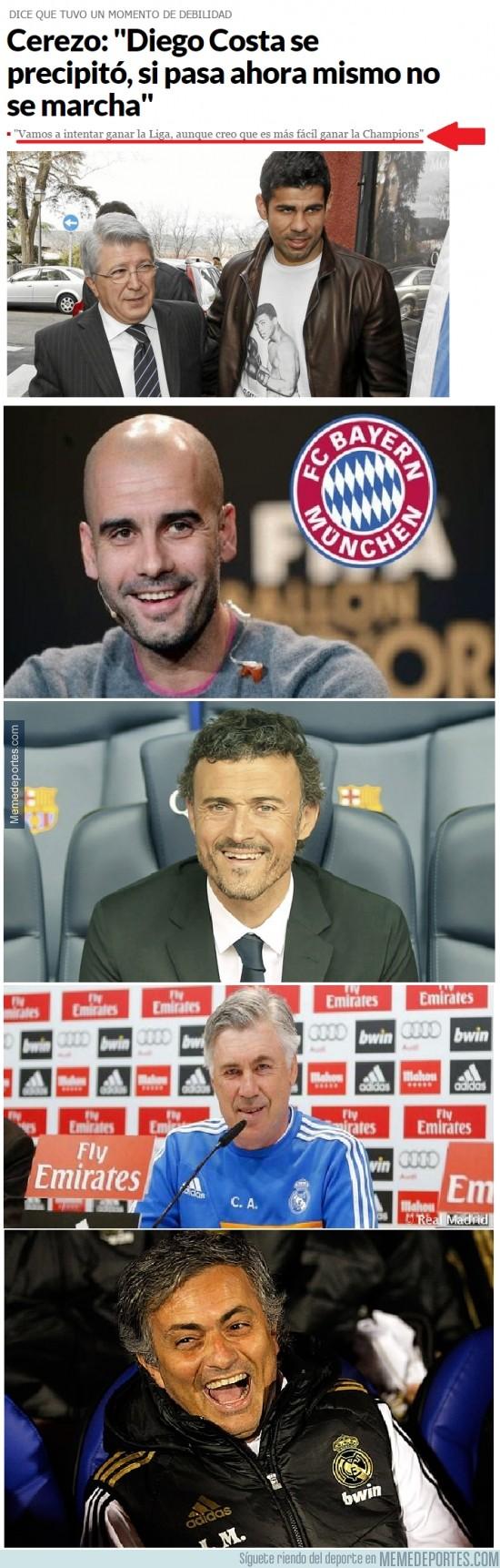 406928 - Cerezo, la Champions es la Champions