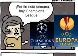 Enlace a Nadie quiere acordarse de la Champions League Naranja