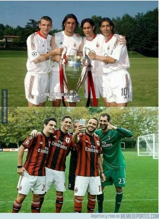 407139 - Diferencias entre el Milán de antes y el de ahora