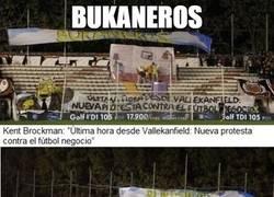 Enlace a Bukaneros, contra el fútbol moderno
