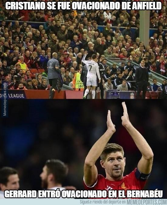 407736 - Cristiano se fue ovacionado de Anfield