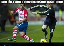 Enlace a Callejón y Nolito convocados con la selección
