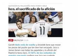 Enlace a ¿De verdad la afición del Madrid quiere quitar a Isco en el estado de forma en el que está?