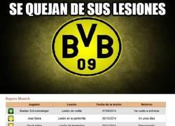 Enlace a Borussia, menos quejarse y más huevos en el campo