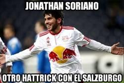 Enlace a Jonathan Soriano, a ritmo de hattrick. ¿Lo convocará Del Bosque mañana?
