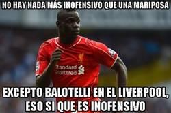 Enlace a Y Balotelli sigue sin hacer nada en el Liverpool
