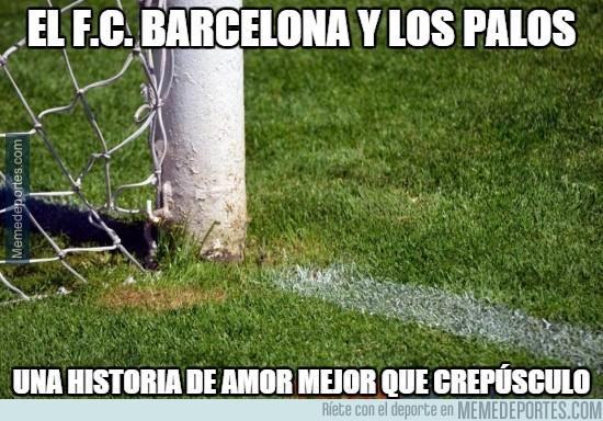 408846 - El Barça y los palos