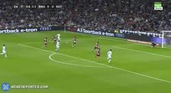 Enlace a GIF: Bale dedica su gol a todos los que dudaban de él