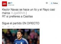Enlace a ¿Que el @diarioas hace campaña a favor de Casillas? Para nada para nada
