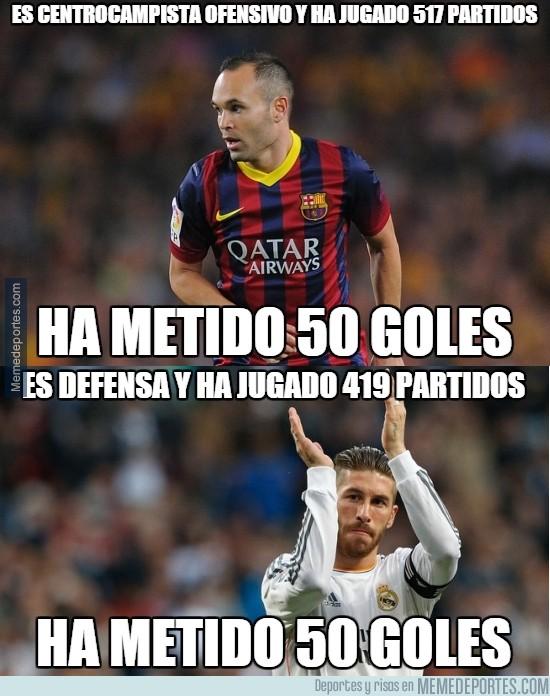 409180 - Porque a veces las comparaciones pueden ser odiosas. Vaya goleador es Ramos.