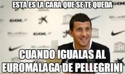 Enlace a El Málaga iguala su record de 5 victorias consecutivas