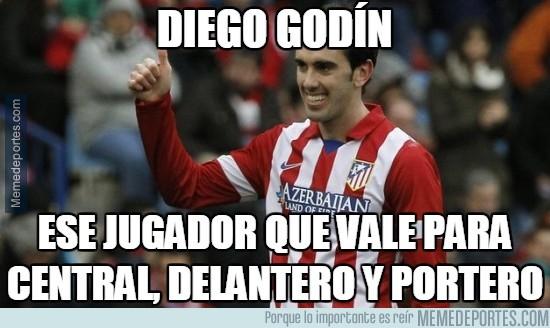 409695 - Diego Godín, el multiusos