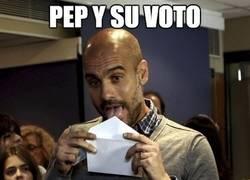 Enlace a Pep y su voto