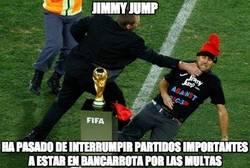 Enlace a Jimmy Jump en bancarrota