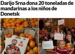 Enlace a Darijo Srna, demostrando verdadera solidaridad