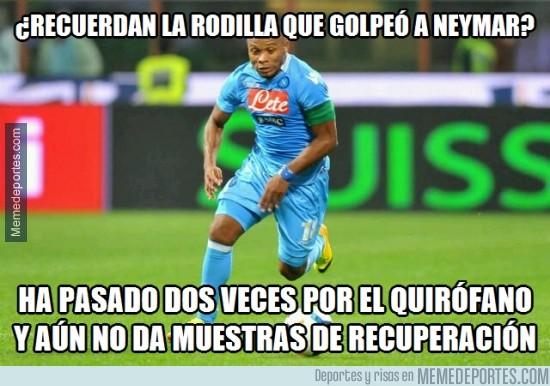 410922 - Zúñiga ha quedado gafado con la columna de Neymar